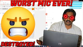 SCAMMER HAS THE WORST MIC ON EARTH! [FILES DELETED]