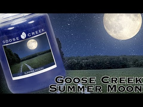 Summer Moon - Goose Creek Candle Review - NEW for Spring 2018