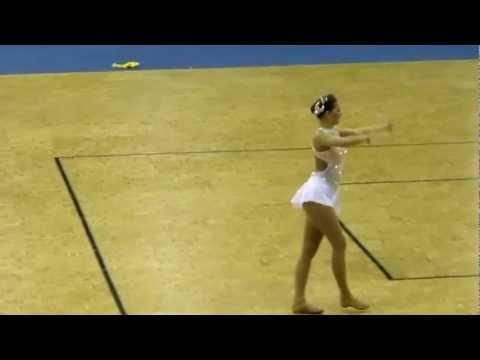 Catherine Watters Neuchatel Switzerland Baton Twirling World Championships April 7, 2012 - Strut