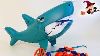 Juego Infantil con el Tiburón Comilon
