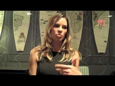 Hilary Swank Interviewed by Scott Feinberg (Part 2 of 3)