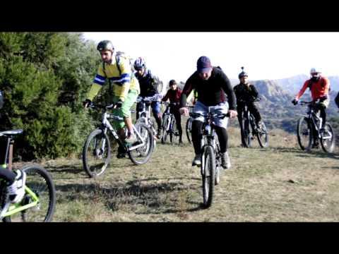 bike tour Vashlovani.  ველო ტური ვაშლოვანში.