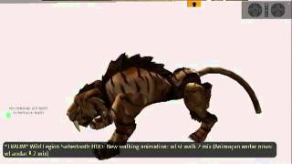 *TRAUM* Sabertooth Tiger Style*  WALKS TOUR
