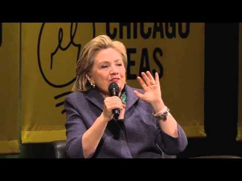 A Conversation with Hillary Rodham Clinton