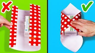 25 فكرة لتغليف الهدايا بطريقة مبتكرة و سهلة