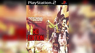 PES 2018 - MODERN HD STYLE I PS2