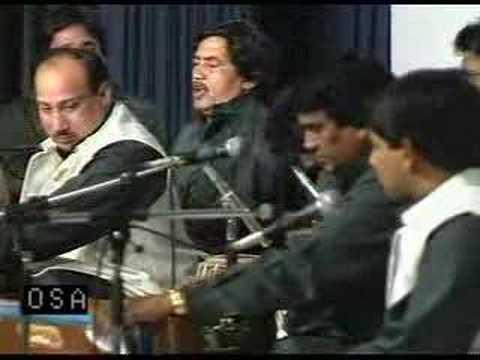 Nusrat Fateh Ali Khan - Mera Piya Ghar Aya 1 2 Dorchester video