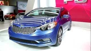 2014 Kia Forte – 2012 LA Auto Show — Edmunds.com Video