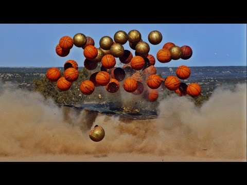 Exploding Basketball Pyramid   Dude Perfect video