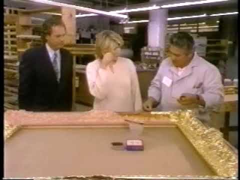 Eli Wilner with Martha Stewart at his Studio pt1