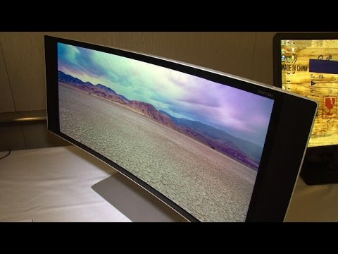 HP UHD and curved displays