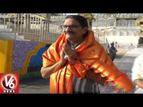 Producer Aswani Dutt Visits Tirumala Sri Venkateshwara Temple | V6 News