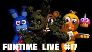 Funtime Live #17: Avanzando un chingo de FNaF World (Con ASMR)