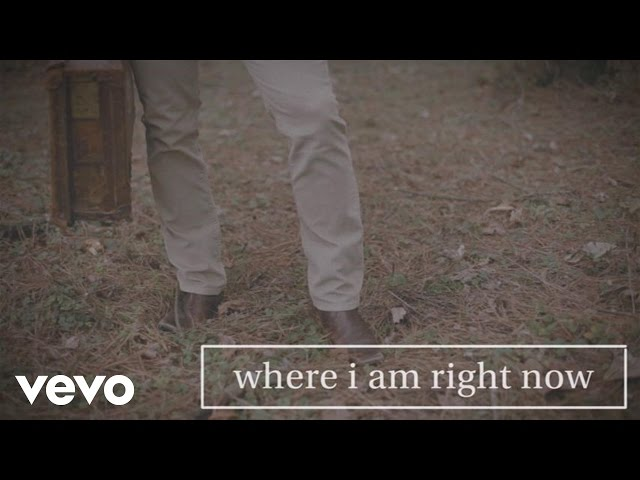 Jared Anderson - Where I Am Right Now (Lyric Video)