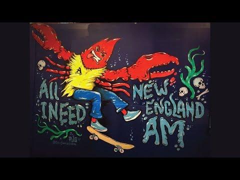 All I Need Skate - Peter James Glenn - New England Am Mural