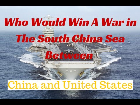 South China Sea ... USA verses China in a War From the Philippines