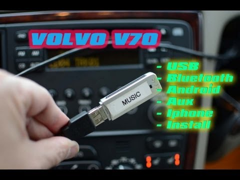 Volvo V70 BLUETOOTH IPOD NEXUS ANDROID MP3 AUX GROMAUDIO A2DP AVRCP by AUTOTOYS