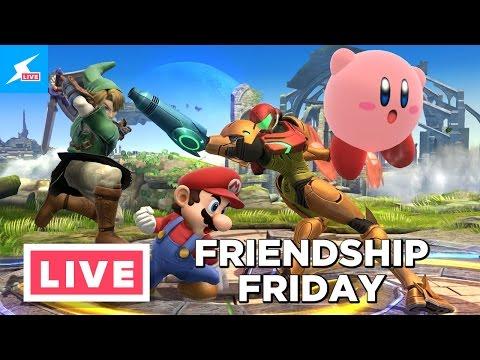 Super Smash Bros Wii U - Amiibo Cock Fighting - Friendship Friday