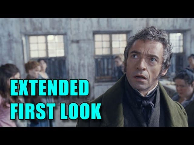 Les Miserables Extended First Look (2012)