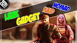 LEAK - GADGET NOMAD & KAID - OPERATORI WIND BASTION [Rainbow Six Siege ITA]
