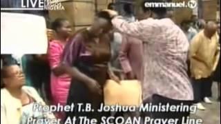 Prophet TB Joshua Sunday 20 October 13 Live Prayer Line Emmanuel TV SCOAN Deliverance