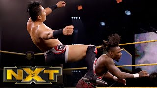 "Isaiah ""Swerve"" Scott vs. Jake Atlas: WWE NXT, July 29, 2020"