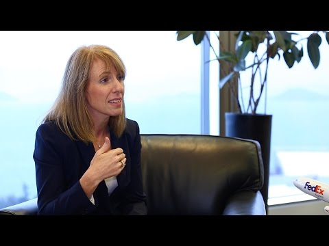Business Leader - Karen Reddington, President of FedEx Express Asia Pacific