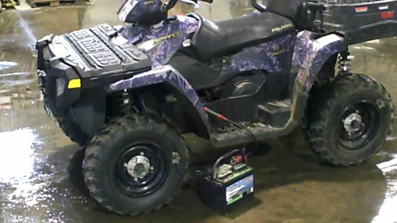 2007 Polaris Sportsman 800 Efi >> LOT 1198A 2007 Polaris 500 Sportsman EFI HO X2 4X4 ATV AWD Camo Edition - YouTube