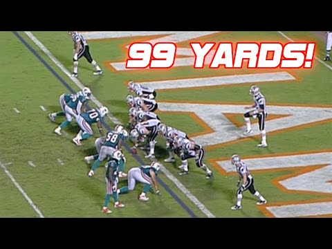 nfl longest passing plays ever, only one of these plays in under 95 yards and I put that in because the player who made the play (John Taylor) had a 96 yard touchdown later in the game.