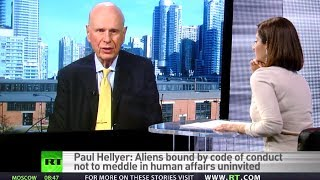 Aliens could share more tech with us, if we warmonger less' - Former Canada Defense Minister  1/5/13