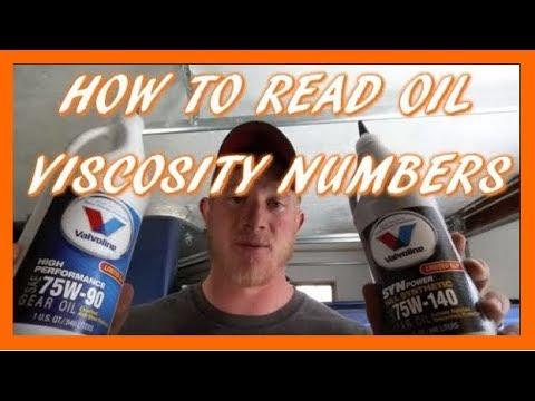 75w-140 vs. 75w-90 Gear Oil   How To Read Gear Oil Viscosity Numbers