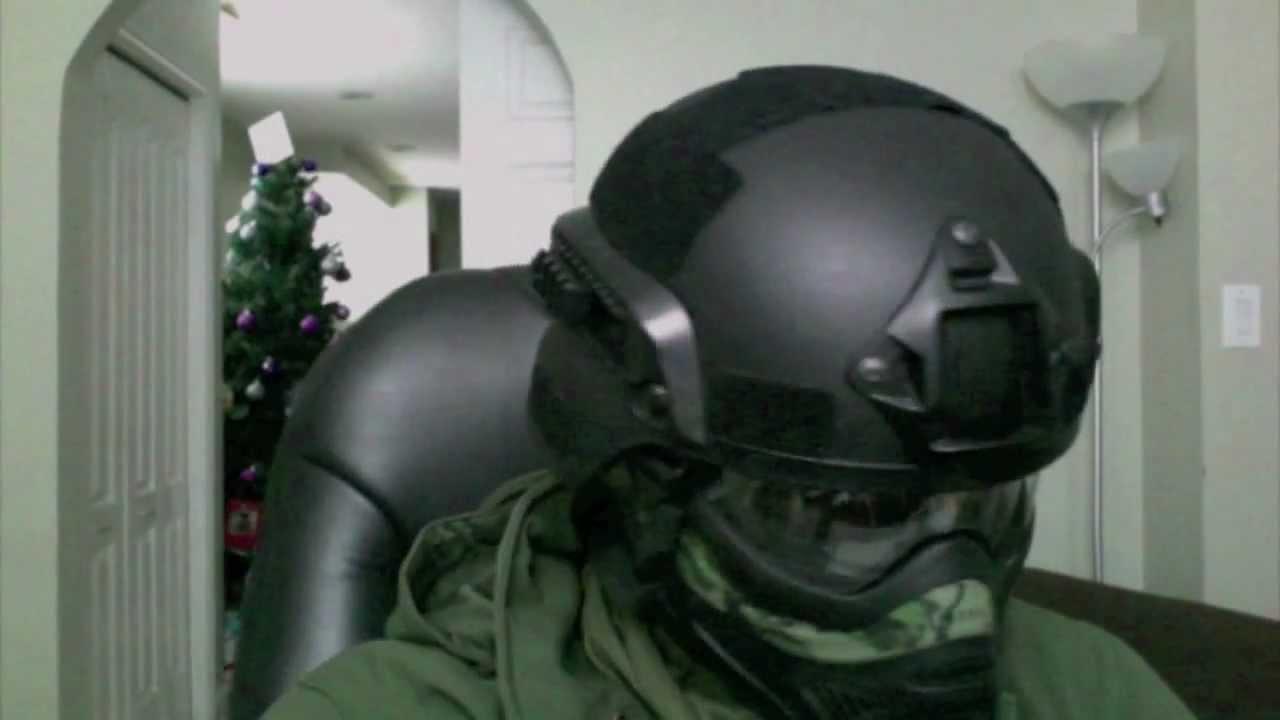 Helmet Setup Helmet Mask Setup