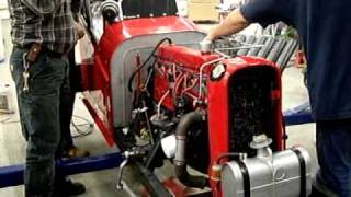 KILLER Chevrolet 292 race engine, Vintage Dragster, Herminator HA/GR,