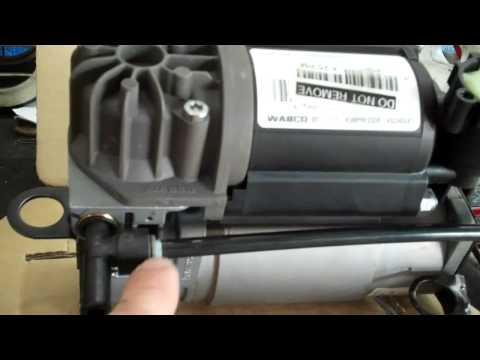 2001 mercedes s430 suspension airmatic pump leak problem how to save money and do it yourself. Black Bedroom Furniture Sets. Home Design Ideas