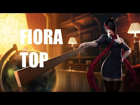 League of Legends - Headmistress Fiora Top - Full Game Commentary Music Videos