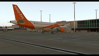 [X-Plane 11] FFA320   London Gatwick ✈ Innsbruck   Active Sky XP + XVISION Testing!