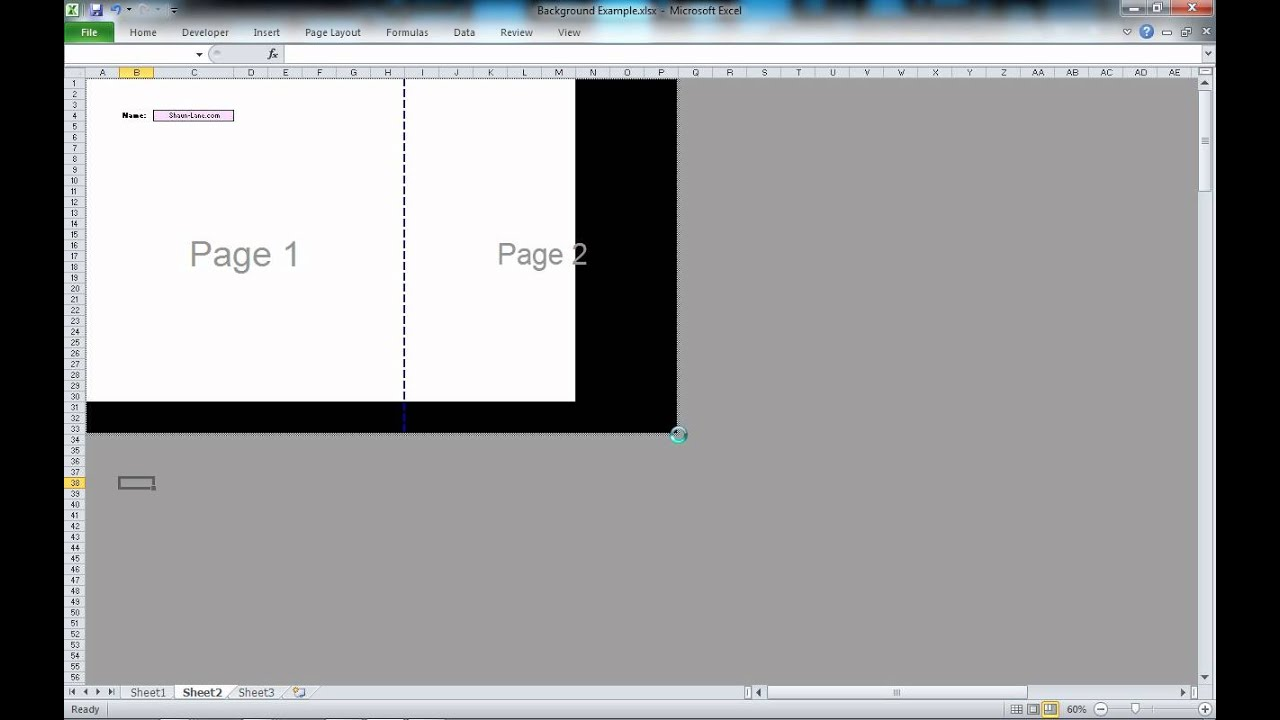 Page Break 2010 Excel Page Breaks in Excel 2010