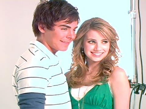 Zac Efron and Emma Roberts - TEEN Magazine Cover Shoot