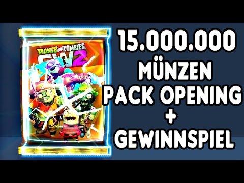 Plants vs Zombies Garden Warfare 2 Sticker Pack Opening Deutsch - 15 Million Münzen/Coins Part 1
