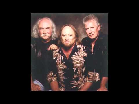 CSN Crosby Stills And Nash If Anybody Had A Heart   Live It Up 1990 LP