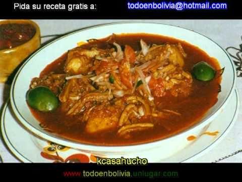 BOLIVIA - COCINA TRADICIONAL