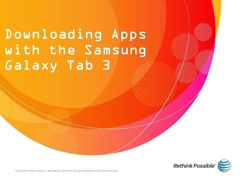 Downloading Apps with the Samsung Galaxy Tab 3