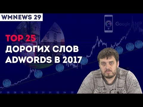 WMNEWS 29. Научные дорвеи. TOP 25 дорогих слов AdWords в 2017.