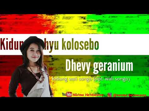 Download Kidung wahyu kolosebo - Dhevy Geranium Reggae Mp4 baru