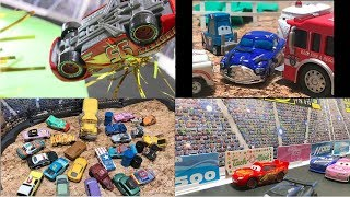 Summary : Stop Motion : Disney Pixar Cars 3 : McQueen's Crush & Memories with Hudson & more