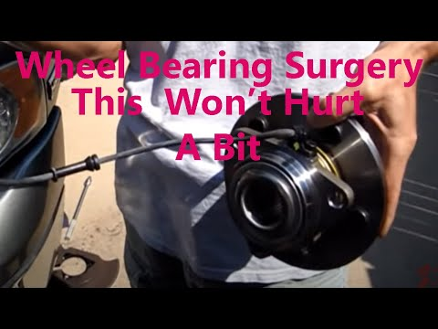 www.dirtyshirt.info: 2005 Dodge Ram Wheel Bearing Replacement and Front Brake Job