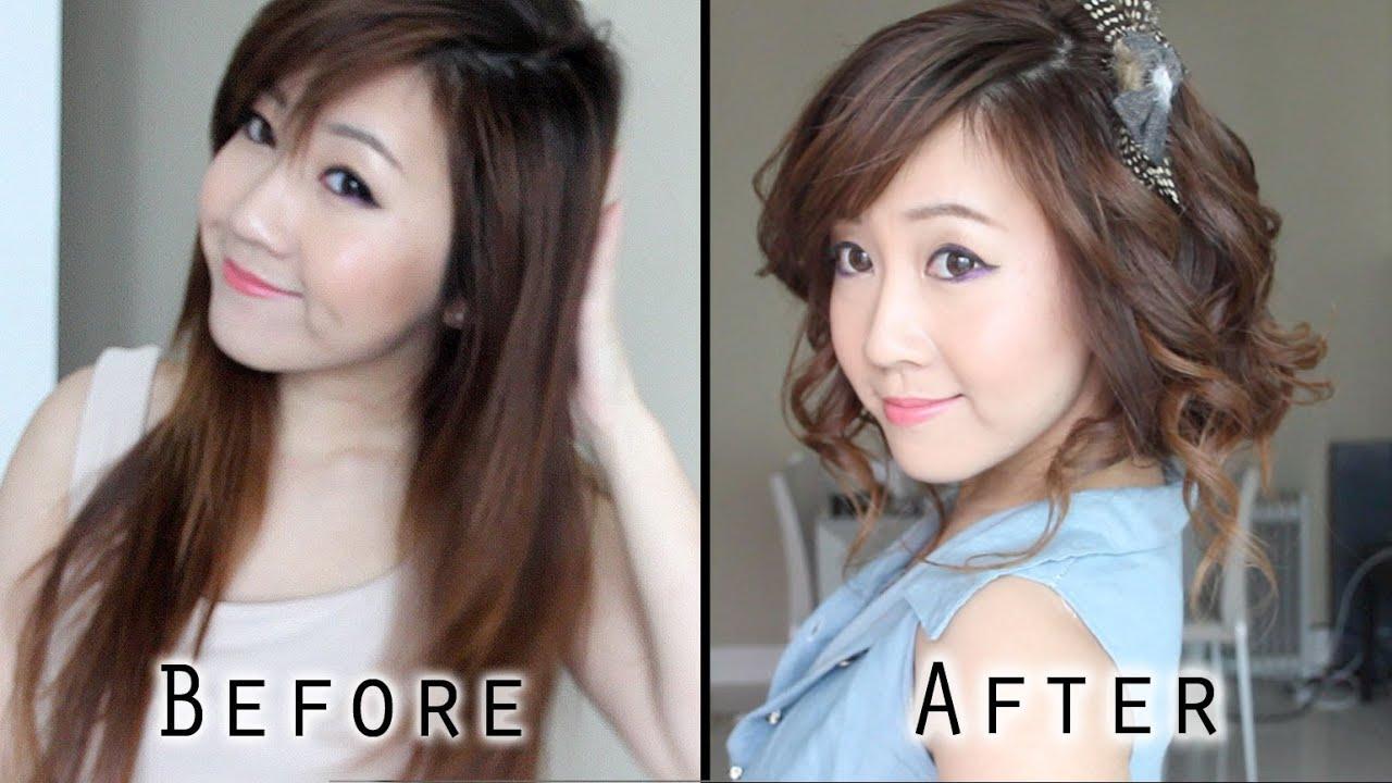 Fake Short Hair Cute Faux Bob YouTube
