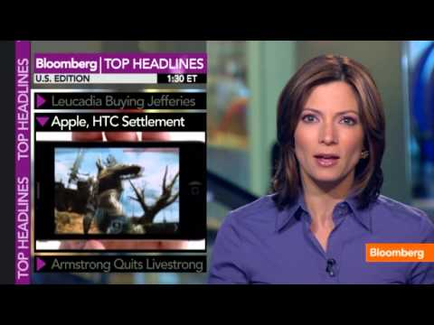 Apple-HTC Settlement, Armstrong Quits Livestrong