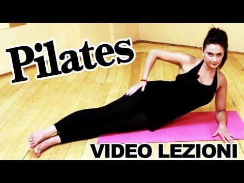 Pilates: esercizi per allenamento completo per dimagrire. lezioni in italiano da fare a casa gratis
