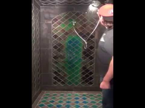 color changing shower medieval paradise youtube